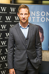 October 20, 2017 - London, London, United Kingdom - Image ©Licensed to i-Images Picture Agency. 20/10/2017. London, United Kingdom. Jenson Button signing his book ''Life to the Limit'' at Waterstones Leadenhall Market. Picture by Gustavo Valiente / i-Images (Credit Image: © Gustavo Valiente/i-Images via ZUMA Press)