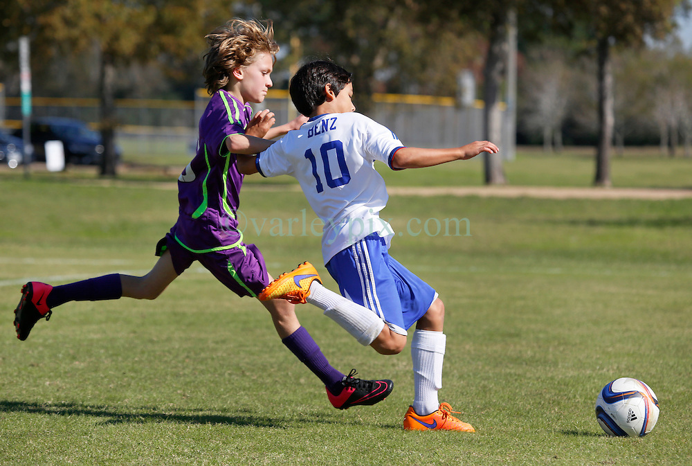 06 December 2015. Missouri City, Texas. <br /> Eclipse Soccer Club, 8th Annual Academy Cup - Toby Lazor Classic.<br /> New Orleans Jesters Youth Academy U10 Purple v ID Chelsea 06B. 2nd game.<br /> Chelsea win 4-0.<br /> Photo©; Charlie Varley/varleypix.com
