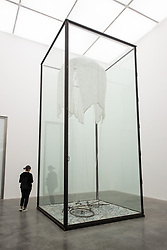 © Licensed to London News Pictures. 27/09/2018. London, UK. Art installation titled <br /> 9 x 9 x 9 by artist Anselm Kiefer. The work is showing at the White Cube Gallery. Photo credit: Ray Tang/LNP