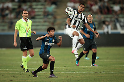 Bari (BA) 21.07.2012 - Trofeo Tim 2012. Inter - Juventus. Nella Foto: Coutinho sx (I) e Vidal (J)
