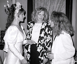 ***FILE PHOTO*** Margot Kidder has passed away at 69**** Margot Kidder and Kathleen Turner attending 'Common Performance Benefit' on April 28, 1986 at the St. Regis Hotel in New York City. 28 Apr 1986 Pictured: Margot Kidder, Kathleen Turner and Carol Kane. Photo credit: WAL/MPI/Capital Pictures / MEGA TheMegaAgency.com +1 888 505 6342