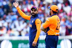 Virat Kohli of India cuts a frustrated figure - Mandatory by-line: Robbie Stephenson/JMP - 30/06/2019 - CRICKET - Edgbaston - Birmingham, England - England v India - ICC Cricket World Cup 2019 - Group Stage