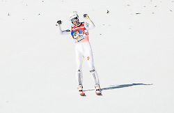 Jurij Tepes (SLO) reacts during Ski Flying Hill Team Competition at Day 3 of FIS Ski Jumping World Cup Final 2016, on March 19, 2016 in Planica, Slovenia. Photo by Vid Ponikvar / Sportida