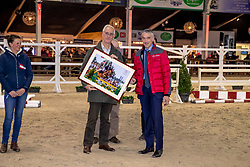 Huldiging fokkers, Lannoo Johan, Espoir<br /> BWP Hengstenkeuring - Lier 2020<br /> © Hippo Foto - Dirk Caremans<br /> 17/01/2020