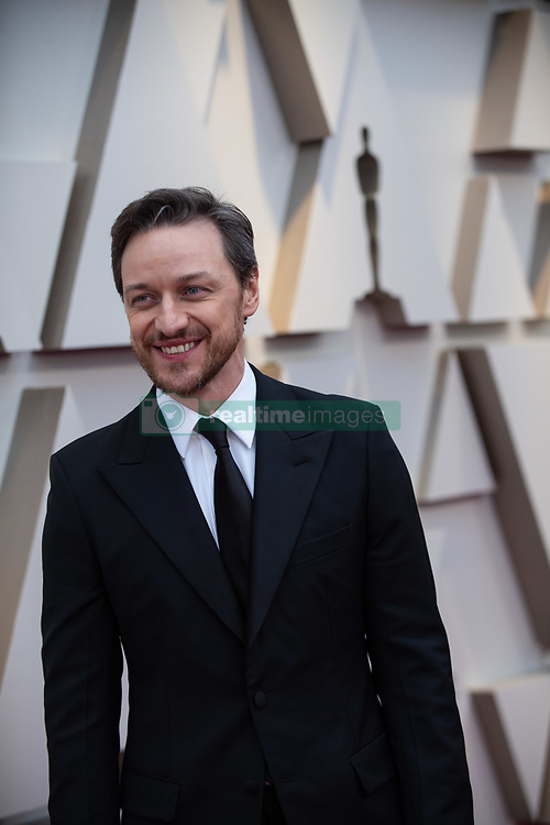 James McAvoy arrives on the red carpet of The 91st Oscars® at the Dolby® Theatre in Hollywood, CA on Sunday, February 24, 2019.