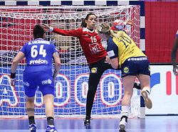 EHF Euro 2020 Main Round group I match between France and Sweden in Jyske Bank Boxen, Herning, Denmark on December 15, 2020. Photo Credit: Allan Jensen/EVENTMEDIA.