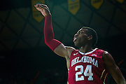 WACO, TX - JANUARY 24: Buddy Hield #24 of the Oklahoma Sooners shoots the ball against the Baylor Bears on January 24, 2015 at the Ferrell Center in Waco, Texas.  (Photo by Cooper Neill/Getty Images) *** Local Caption *** Buddy Hield