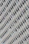Abstract architecture. close up of a high rise building