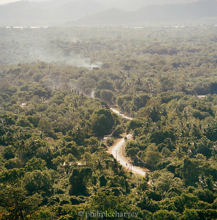 Aerial View From Sigiriya, Sri Lanka