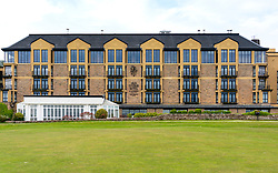 Old Course Hotel, Golf Resort and Spa next to  Old Course St Andrews, Scotland, UK