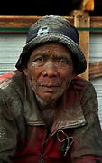 Portrait of a labourer,Sunda Kelapa, the bustling wooden schooner port of Jakarta.