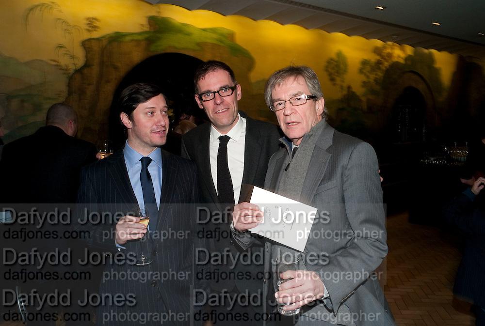 DAVID RISLEY; DEXTER DALWOOD; ALAN CRISTEA, Turner Prize 2010. Tate Britain. Millbank. London. 6 December 2010. -DO NOT ARCHIVE-© Copyright Photograph by Dafydd Jones. 248 Clapham Rd. London SW9 0PZ. Tel 0207 820 0771. www.dafjones.com.