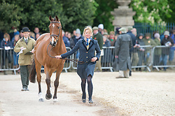 Bate Hannah, (GBR), Finburry Hill<br /> First Horse Inspection - Mitsubishi Motors Badminton Horse Trials <br /> Badminton 2015