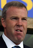 Photo: Paul Thomas.<br /> Oldham Athletic v Swansea City. Coca Cola League 1. 12/08/2006.<br /> <br /> Kenny Jackett, Swansea manager.
