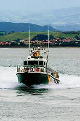 Police launch in Santander Bay, Spain<br /> <br /> (c) Andrew Wilson   Edinburgh Elite media