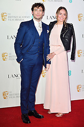 © Licensed to London News Pictures. 13/02/2016. SAM CLAFLIN and LAURA HADDOCK attend the BAFTA Lancôme Nominees' Party held at Kensington Palace. London, UK. Photo credit: Ray Tang/LNP