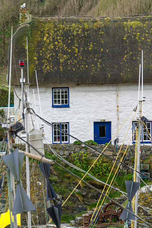 The port town of Gadwith, Cornwall England.