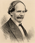 Julius Benedict (1804-1885) German-born composer and conductor, born at Stuttgart, the son of a Jewish banker. He spent most of his career in  England.  Engraving from 'The Illustrated London News' (ondon, 13 June 1885).