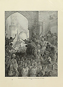 Arrival of Prisoners at Cairo [On 8 February 1250 Louis lost his army at the Battle of Al Mansurah, Egypt] Plate LXXVI from the book Story of the crusades. with a magnificent gallery of one hundred full-page engravings by the world-renowned artist, Gustave Doré [Gustave Dore] by Boyd, James P. (James Penny), 1836-1910. Published in Philadelphia 1892