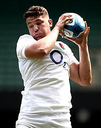 Charlie Ewels of England takes part in training at Twickenham ahead of the upcoming tour of Argentina - Mandatory by-line: Robbie Stephenson/JMP - 02/06/2017 - RUGBY - Twickenham - London, England - England Rugby Training