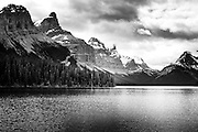 Maligne Lake in Jasper National Park