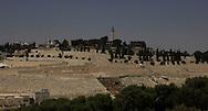 The Mount of Olives, Jesusalem<br /> Photo by Dennis Brack