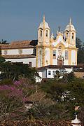 Tiradentes_MG, Brasil...Igreja Matriz de Santo Antonio em Tiradentes, Minas Gerais...The Santo Antonio mother church in Tiradentes, Minas Gerais. ..Foto: JOAO MARCOS ROSA / NITRO