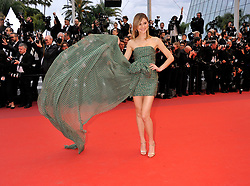 Stefanie Giesinger attending the Pain and Glory Premiere as part of the Cannes 72nd Film Festival in France