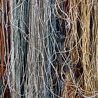 Asia, China, Suzhou. Silk threads.