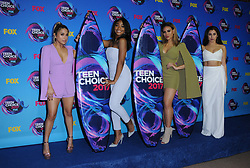 13 August  2017 - Los Angeles, California - Fifth Harmony. Teen Choice Awards 2017 held at the Galen Center in Los Angeles. Photo Credit: Birdie Thompson/AdMedia *** Please Use Credit from Credit Field ***