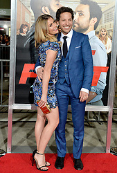 Richie Keen, Brianna Brown attend the premiere of Warner Bros. Pictures' 'Fist Fight' on February 13, 2017 in Los Angeles, CA, USA. Photo by Lionel Hahn/ABACAPRESS.COM