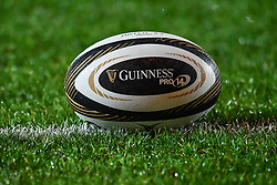 Guinness Pro 14 branded ball - Mandatory by-line: Craig Thomas/Replay images - 26/12/2017 - RUGBY - Parc y Scarlets - Llanelli, Wales - Scarlets v Ospreys - Guinness Pro 14