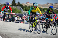 10 Boys #126 (BAIRD Kyne) AUS at the 2018 UCI BMX World Championships in Baku, Azerbaijan.