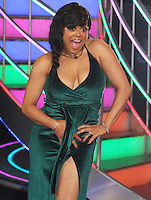 Stacy Francis becomes the sixth housemate to be evicted from the Celebrity Big Brother House, Elstree Studios, Hertfordshire UK, 24 January 2017, Photo by Brett D. Cove
