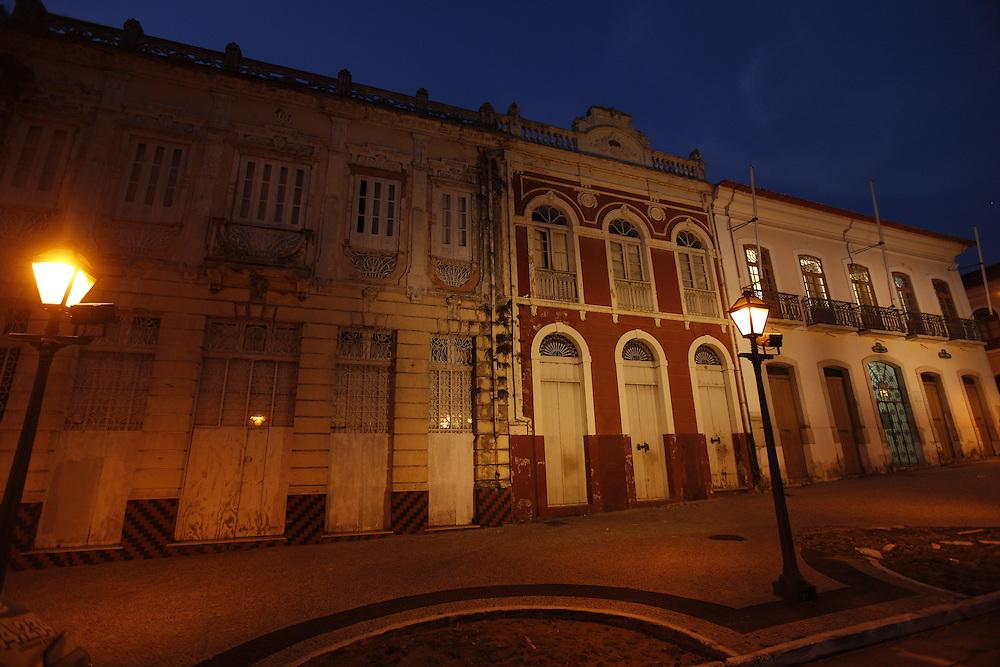 Sao Luis_MA, Brasil.<br /> <br /> Cidade de Sao Luis do Maranhao.<br /> <br /> History houses in Sao Luis do Maranhao.<br /> <br /> Foto: LEO DRUMOND / NITRO