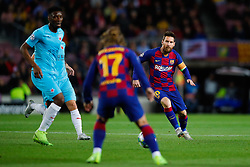 November 5, 2019, Barcelona, Catalonia, Spain: November 5, 2019 - Barcelona, Spain - Uefa Champions League Stage Group, FC Barcelona v Slavia Praga: Lionel Messi of FC Barcelona passes the ball to Antoine Griezmann of FC Barcelona. (Credit Image: © Eric Alonso/ZUMA Wire)