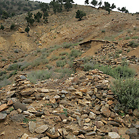 .20th August 2007.Tora Bora.The ruins of Tora Bora on the 20th August 2007. Tora Bora was one of the mountain hideouts of Osama Bin Laden and the Al-Qaeda fighters. It was destroyed during the battle of Tora Bora at the beginning of this recent conflict.  In the past weeks it has been the scene of a joint US and Afghan offensive against Taliban fighters who have moved back into the area....