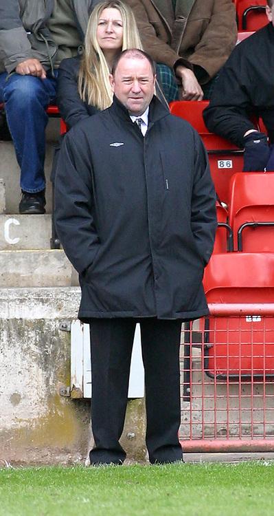Photo: Dave Linney.<br />Walsall v Bristol City. Coca Cola League 1. 08/04/2006.<br />Bristol Mgr Gary Johnson