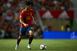 September 11, 2018 - Elche, Spain - Marco Asensio of Spain  controls the ball during the UEFA Nations League football match between Spain and Croatia at Martinez Valero Stadium in Elche, Spain on September 11, 2018. (Credit Image: © Jose Breton/NurPhoto/ZUMA Press)