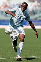 """Stephen Ayodele Makinwa (Lazio)<br /> Italian """"Serie A"""" 2006-07 <br /> 22 Apr 2007 (Match Day 33)<br /> Lazio-Fiorentina (0-1)<br /> """"Olimpico"""" Stadium-Roma-Italy<br /> Photographer Luca Pagliaricci INSIDE"""