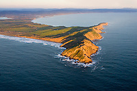 Pt. Reyes looking east.  Drakes bay is in the background