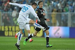 27.11.2014, Stadium Kantrida, Rijeka, CRO, UEFA EL, HNK Rijeka vs FC Standard Liege, Gruppe G, im Bild Moises // during the UEFA Europa Lduring the UEFA Europa League group G match between HNK Rijeka and FC Standard Liege at the Stadium Kantrida in Rijeka, Croatia on 2014/11/27. EXPA Pictures © 2014, PhotoCredit: EXPA/ Pixsell/ Nel Pavletic<br /> <br /> *****ATTENTION - for AUT, SLO, SUI, SWE, ITA, FRA only*****