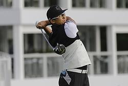 October 19, 2017 - Seogwipo, Jeju Island, South Korea - Whee Kim of South Korea action on the 10th tee during an PGA TOUR The CJ CUP NINE BRIDGE at Nine Bridge CC in Jeju, South Korea. (Credit Image: © Ryu Seung Il via ZUMA Wire)