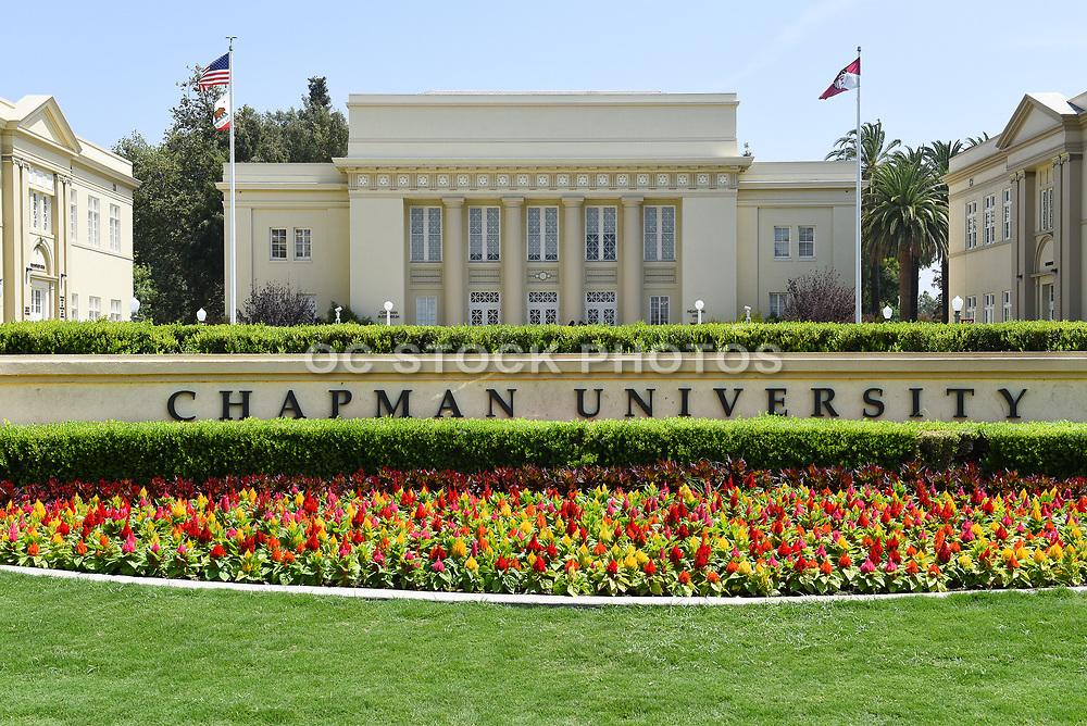 Chapman University in the City of Orange