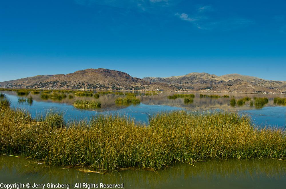 Tourism is thriving on Lake Titicaca, Peru.