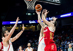 Nikita Kurbanov of Russia during basketball match between National Teams  Spain and Russia at Day 18 in 3rd place match of the FIBA EuroBasket 2017 at Sinan Erdem Dome in Istanbul, Turkey on September 17, 2017. Photo by Vid Ponikvar / Sportida