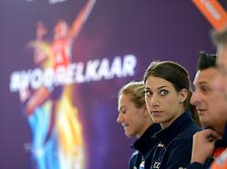 22-05-2015 NED: Persconferentie Nederlands Volleybalteam vrouwen 2015, Arnhem<br /> Persconferentie Nederlandse Volleybal team vrouwen op Papendal / Robin de Kruijf