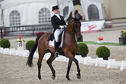 Waelkens Tahnee (BEL) - Sandiegobese<br /> BK Young Riders<br /> Flanders Dressage Event Hulsterlo 2012<br /> © Dirk Caremans