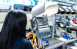 THEMENBILD - Produktion. Das Familienunternhemen Hagleitner ist Hersteller und Entwickler innovativer Produkte aus dem Bereich Hygiene mit 27 Standorten in zwölf Ländern Europas und einem Vertrieb in 63 Ländern // Hagleitner is a manufacturer and developer of innovative products in the hygiene sector with 27 locations in 12 European countries and a distribution network in 63 countries, Zell am See, Austria on 2019/07/26. EXPA Pictures © 2019, PhotoCredit: EXPA/ JFK