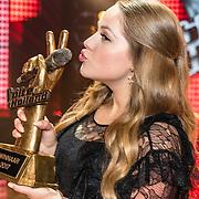 NLD/Hilversum//20170218 - Finale The Voice of Holland 2017, winnares Pleun Bierbooms